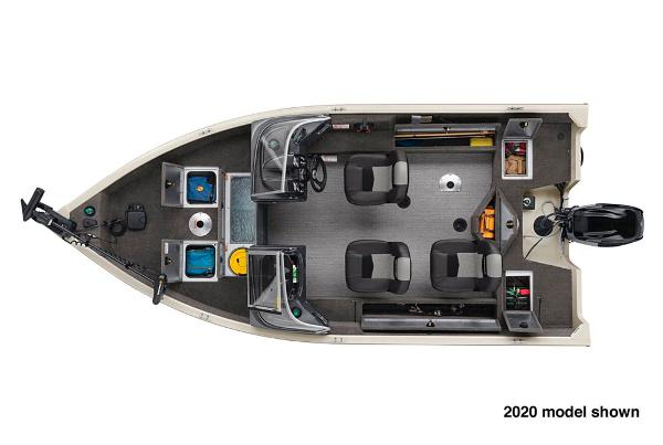 2021 Tracker Boats boat for sale, model of the boat is Pro Guide V-16 WT & Image # 4 of 5