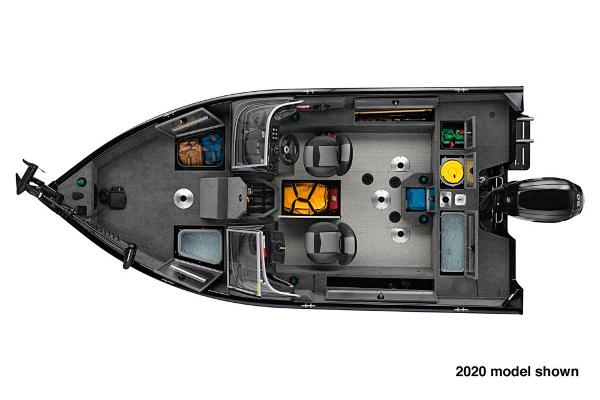 2021 Tracker Boats boat for sale, model of the boat is Pro Guide V-175 WT & Image # 4 of 5
