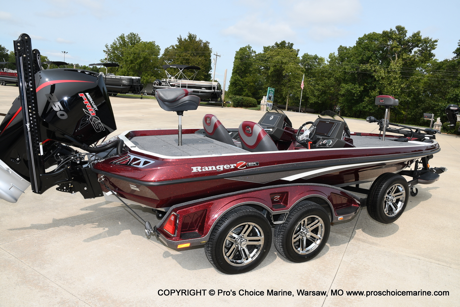 2021 Ranger Boats boat for sale, model of the boat is Z521L Cup Equipped DUAL CONSOLE & Image # 11 of 50