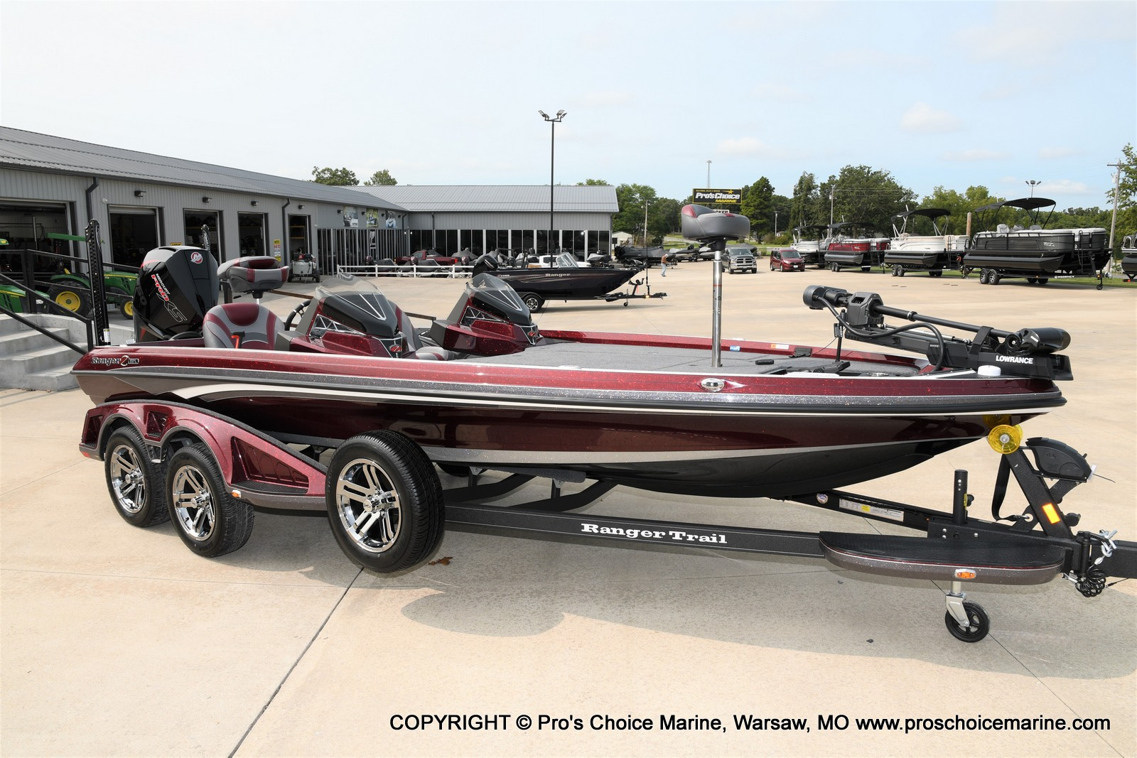 2021 Ranger Boats boat for sale, model of the boat is Z521L Cup Equipped DUAL CONSOLE & Image # 38 of 50