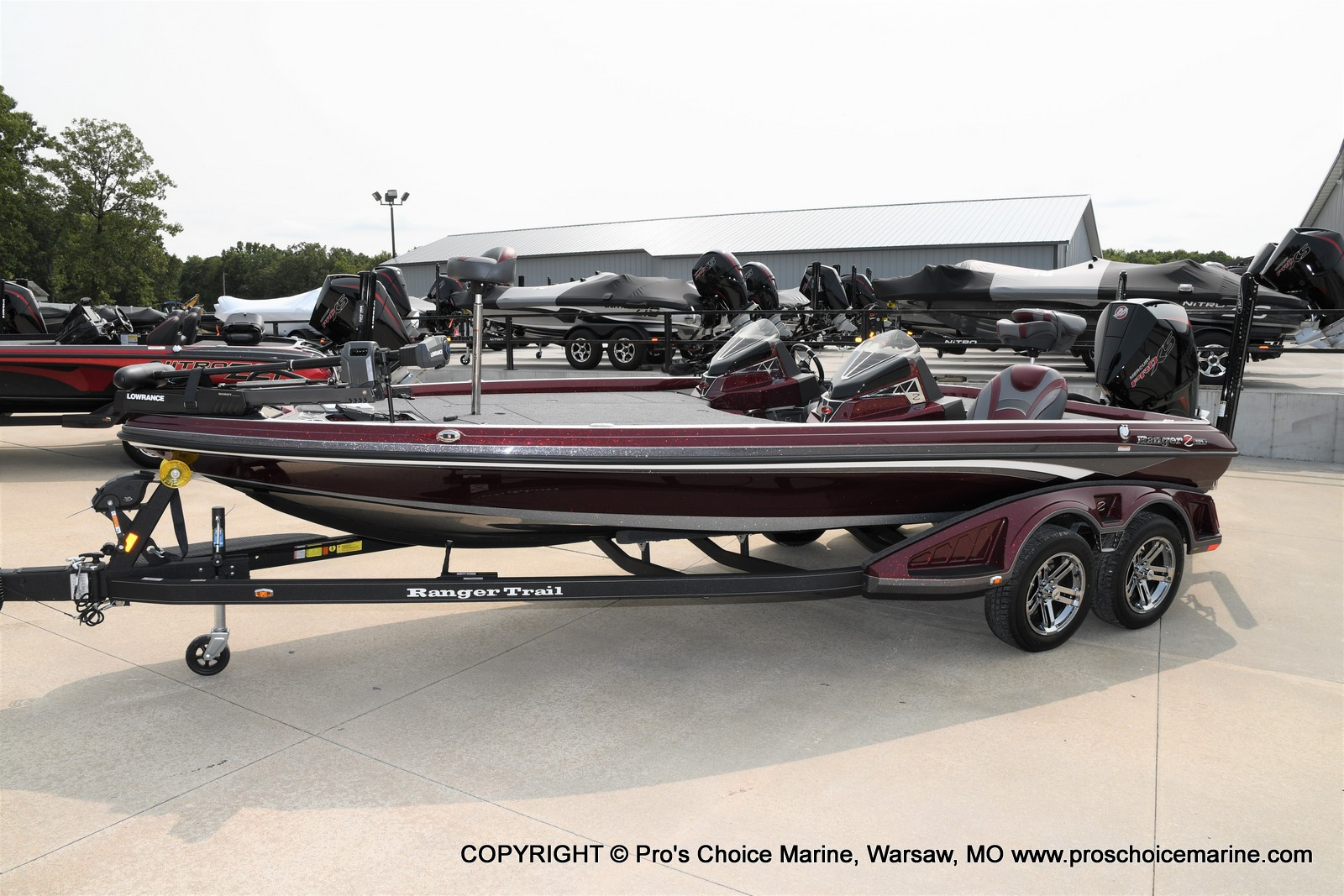 2021 Ranger Boats boat for sale, model of the boat is Z521L Cup Equipped DUAL CONSOLE & Image # 40 of 50