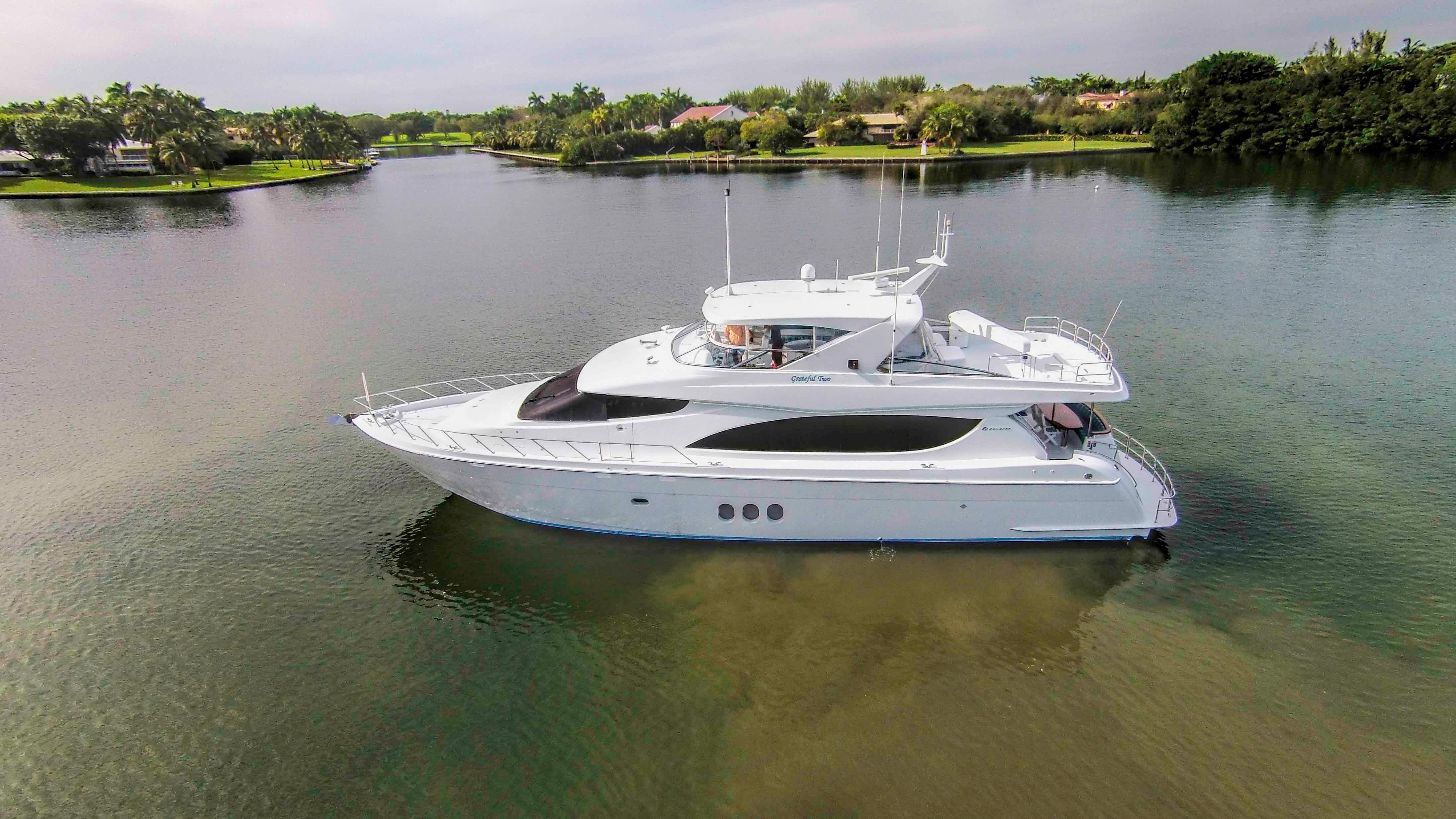 80 hatteras 2007 grateful two for sale in fort lauderdale for 80 hatteras motor yacht