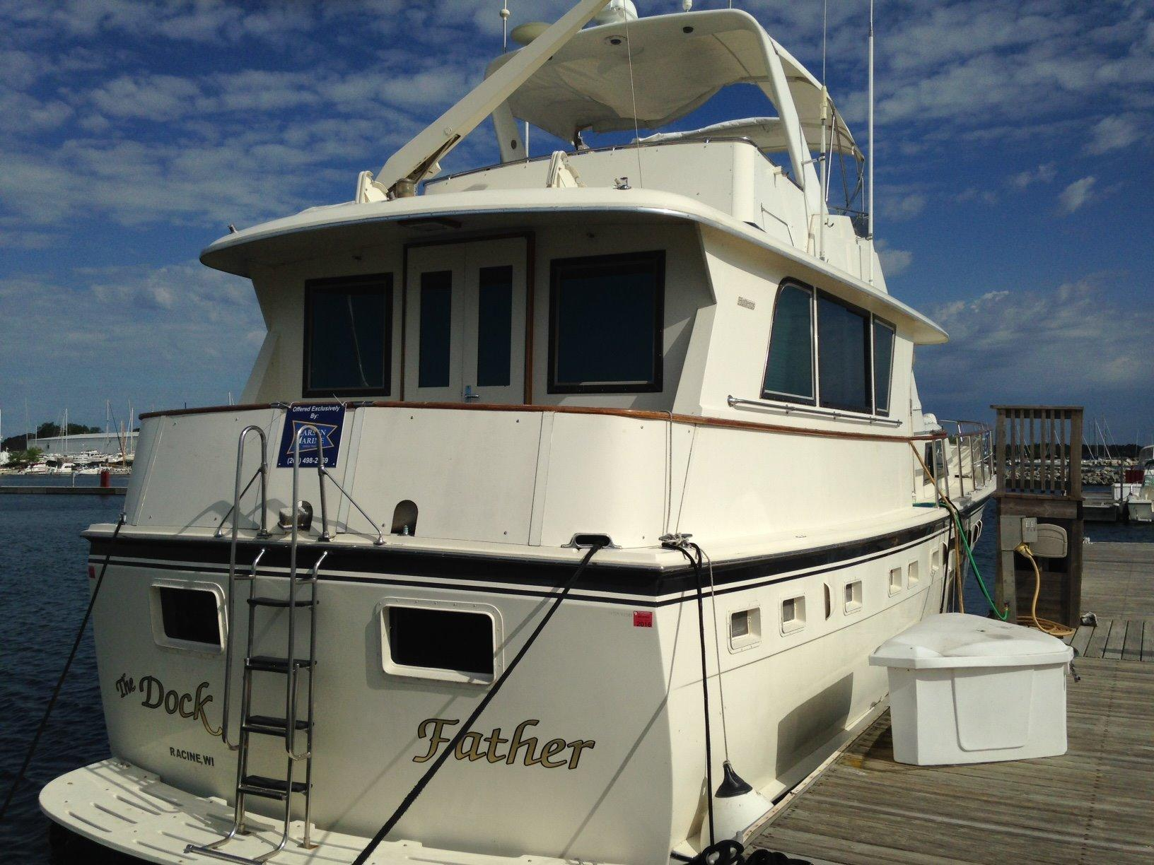 53 Hatteras 1985 The Dock Father For Sale In Waukegan