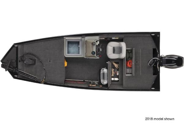 2019 Tracker Boats boat for sale, model of the boat is Pro 160 & Image # 4 of 5
