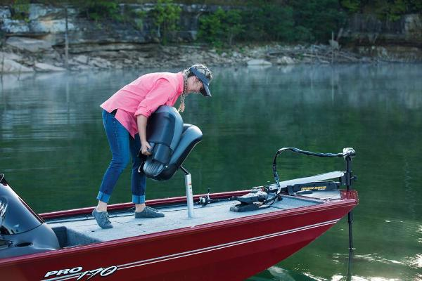 2019 Tracker Boats boat for sale, model of the boat is Pro 170 & Image # 40 of 66