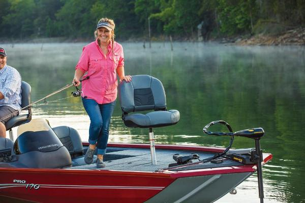 2019 Tracker Boats boat for sale, model of the boat is Pro 170 & Image # 49 of 66