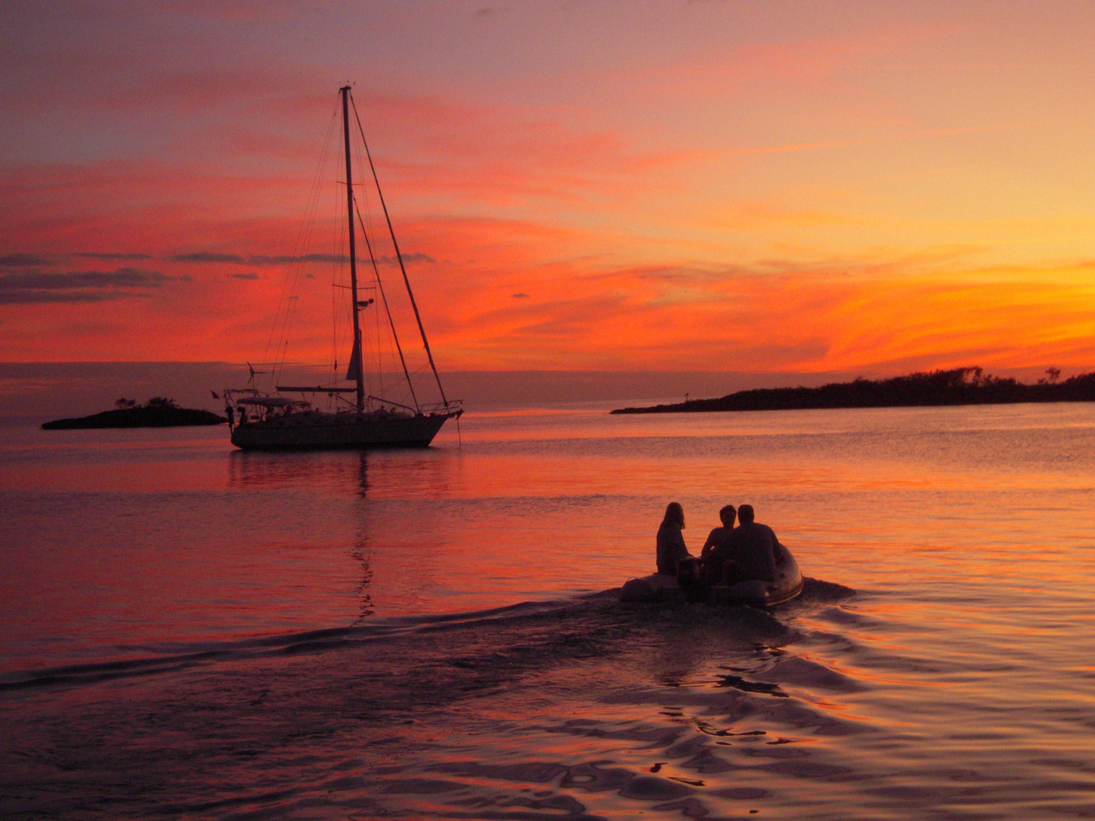 SUNSET ON SEA STAR