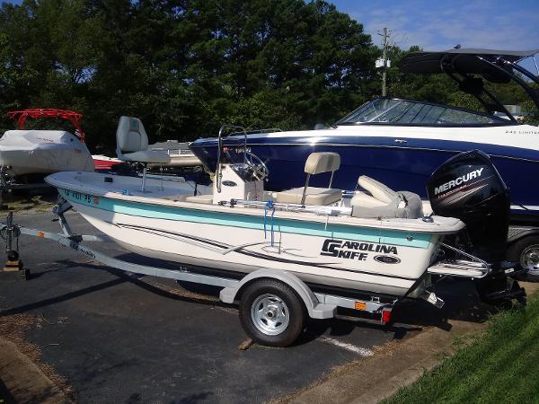 2018 Carolina Skiff boat for sale, model of the boat is 16 JVXcc & Image # 2 of 8