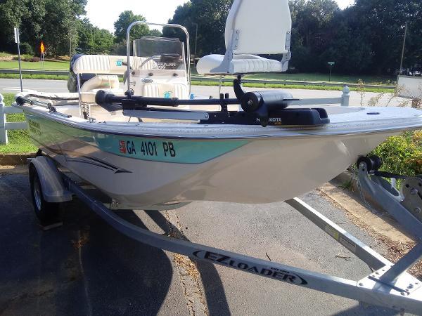 2018 Carolina Skiff boat for sale, model of the boat is 16 JVXcc & Image # 6 of 8