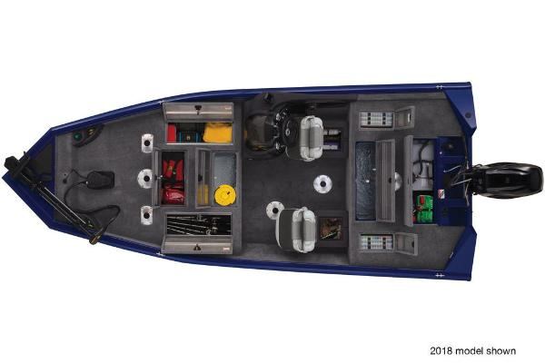 2019 Tracker Boats boat for sale, model of the boat is Pro Team 175 TF & Image # 57 of 59