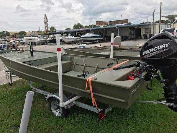 2015 CRESTLINER CR1648M JON BOAT for sale