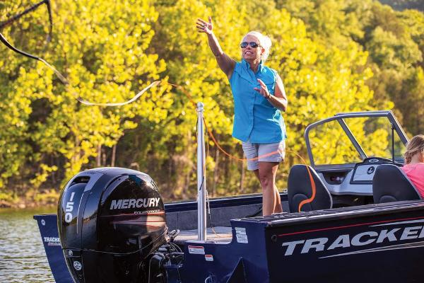 2019 Tracker Boats boat for sale, model of the boat is Targa V-18 Combo & Image # 34 of 82