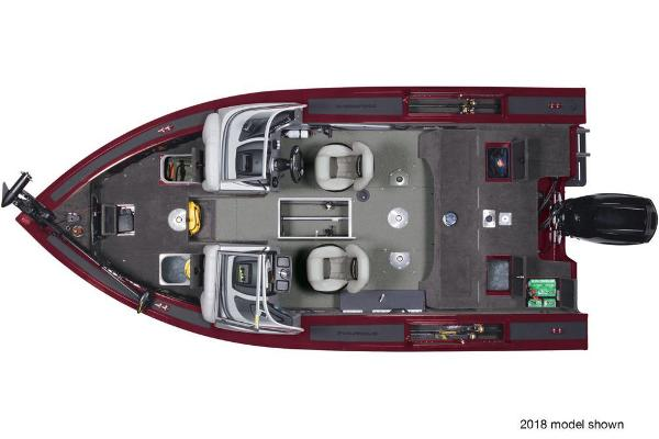 2019 Tracker Boats boat for sale, model of the boat is Targa V-18 Combo & Image # 66 of 82
