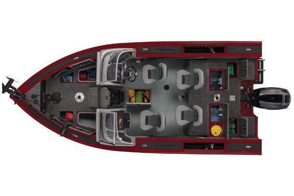 2019 Tracker Boats boat for sale, model of the boat is Targa V-19 Combo & Image # 12 of 51