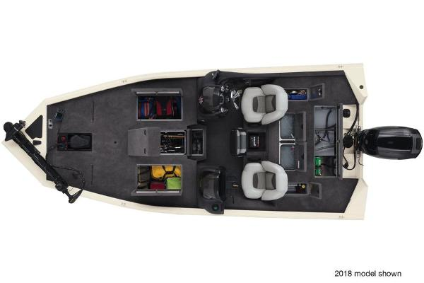 2019 Tracker Boats boat for sale, model of the boat is Pro Team 195 TXW Tournament Edition & Image # 21 of 25