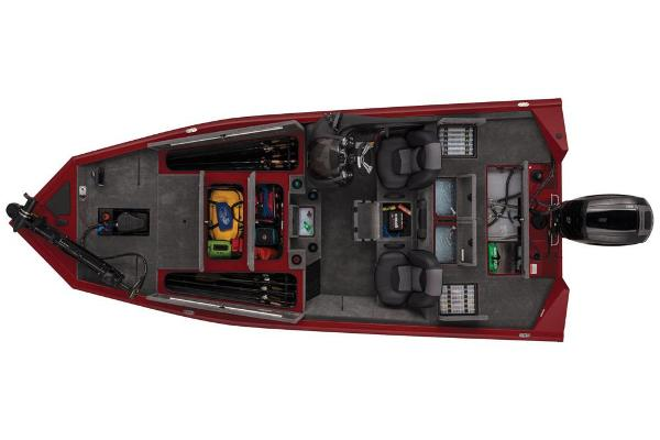 2019 Tracker Boats boat for sale, model of the boat is Pro Team 195 TXW Tournament Edition & Image # 21 of 22