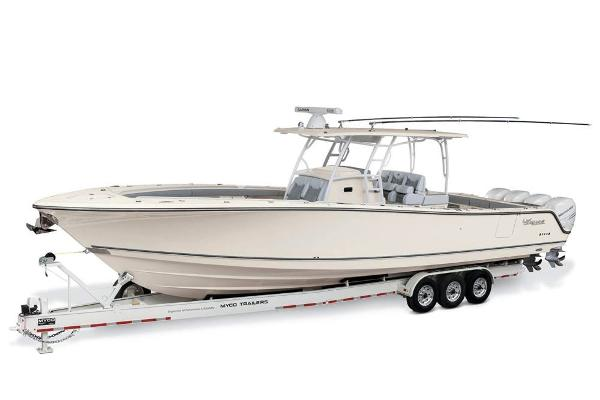 2020 Mako boat for sale, model of the boat is 414 CC Sportfish Edition & Image # 2 of 60