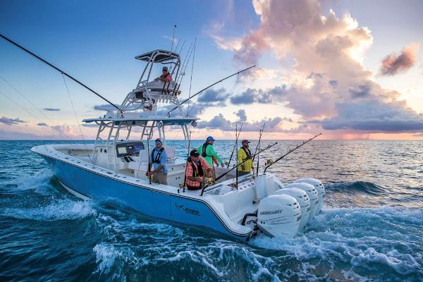 2020 Mako boat for sale, model of the boat is 414 CC Sportfish Edition & Image # 3 of 60