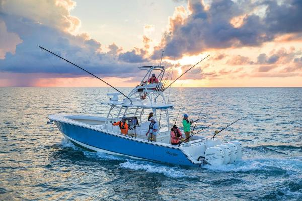 2020 Mako boat for sale, model of the boat is 414 CC Sportfish Edition & Image # 4 of 60