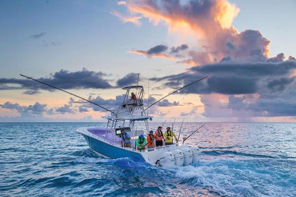 2020 Mako boat for sale, model of the boat is 414 CC Sportfish Edition & Image # 7 of 60
