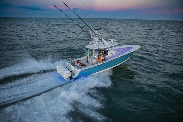 2020 Mako boat for sale, model of the boat is 414 CC Sportfish Edition & Image # 8 of 60