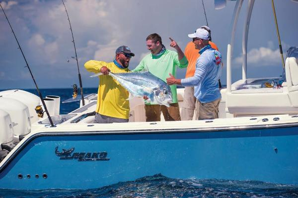 2020 Mako boat for sale, model of the boat is 414 CC Sportfish Edition & Image # 41 of 60