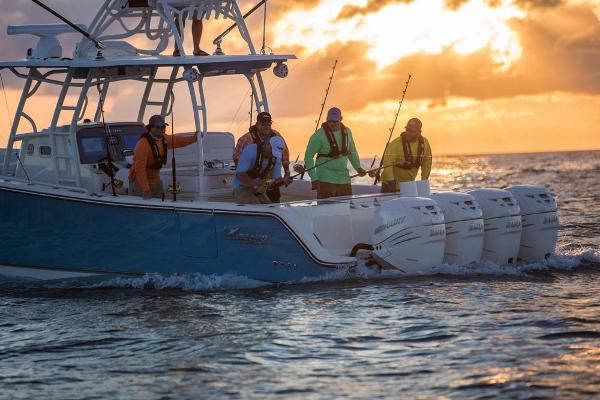 2020 Mako boat for sale, model of the boat is 414 CC Sportfish Edition & Image # 48 of 60