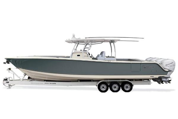 2020 Mako boat for sale, model of the boat is 414 CC Sportfish Edition & Image # 50 of 60