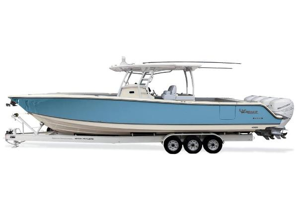 2020 Mako boat for sale, model of the boat is 414 CC Sportfish Edition & Image # 54 of 60