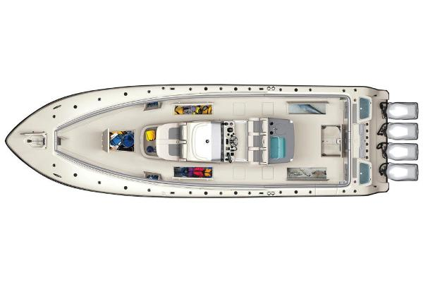 2020 Mako boat for sale, model of the boat is 414 CC Sportfish Edition & Image # 58 of 60