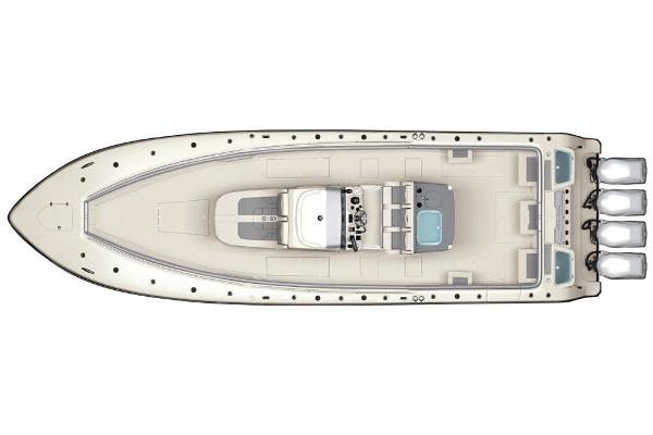2020 Mako boat for sale, model of the boat is 414 CC Sportfish Edition & Image # 59 of 60