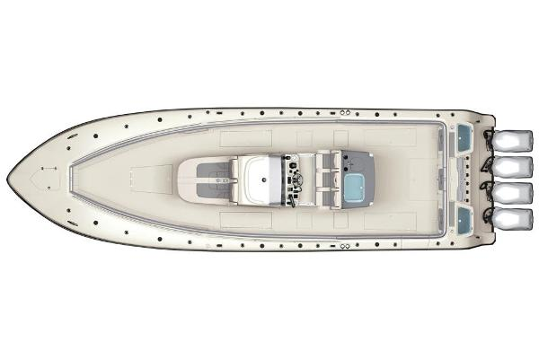2020 Mako boat for sale, model of the boat is 414 CC Sportfish Edition & Image # 60 of 60