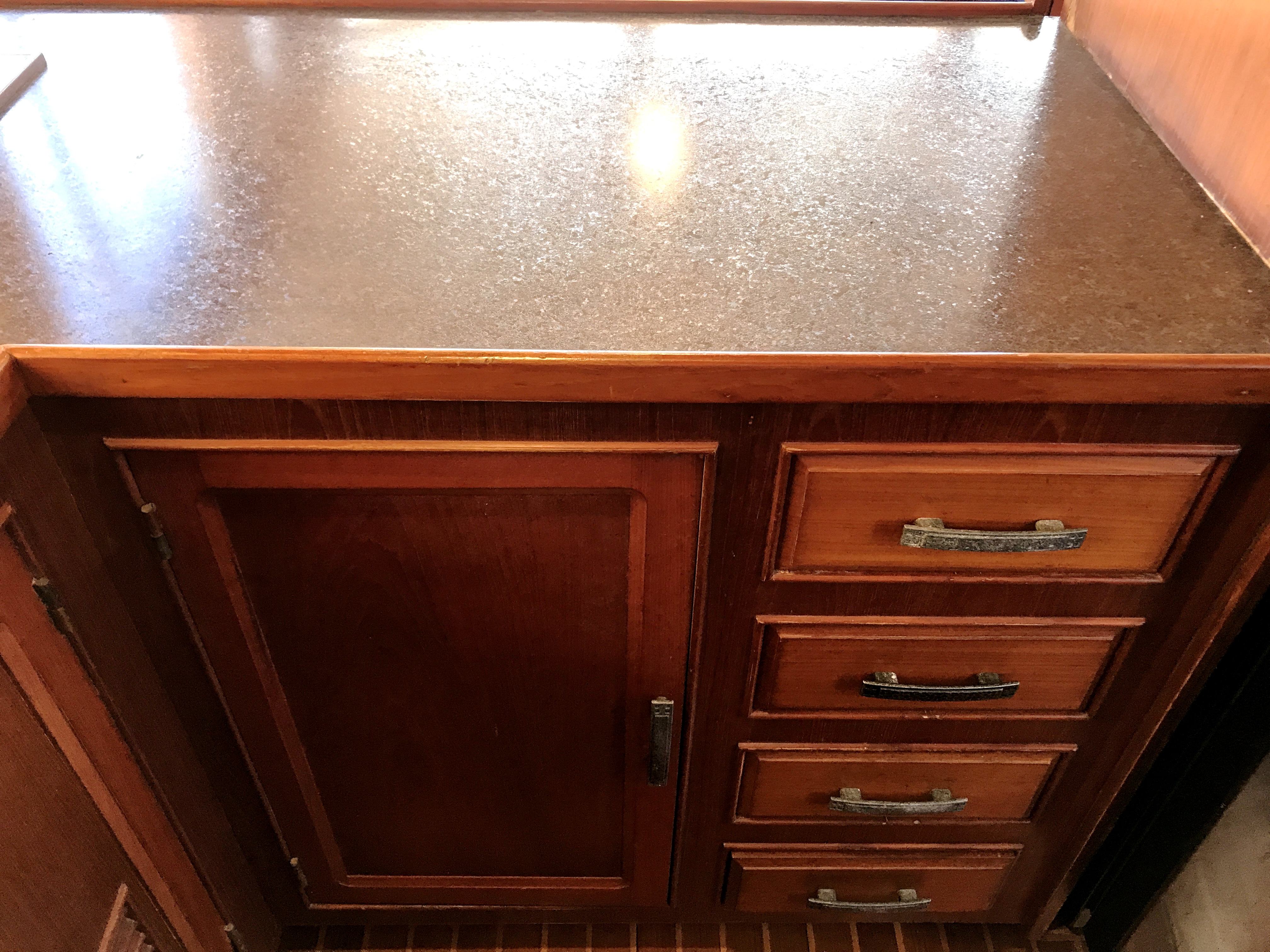 Sea Ranger SUNDECK - lower cabinets and forward counter space