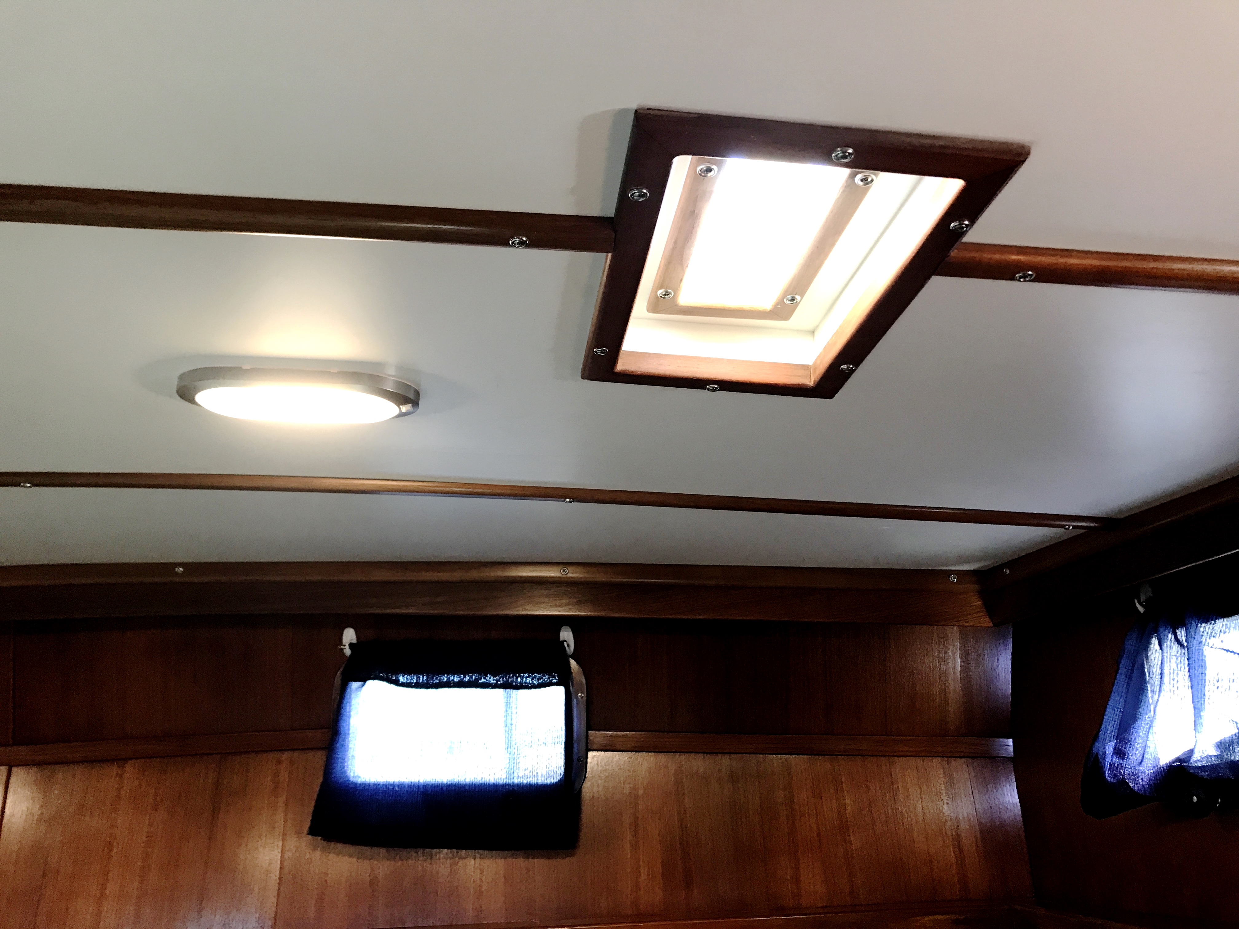 Sea Ranger SUNDECK - All new overhead in master stateroom