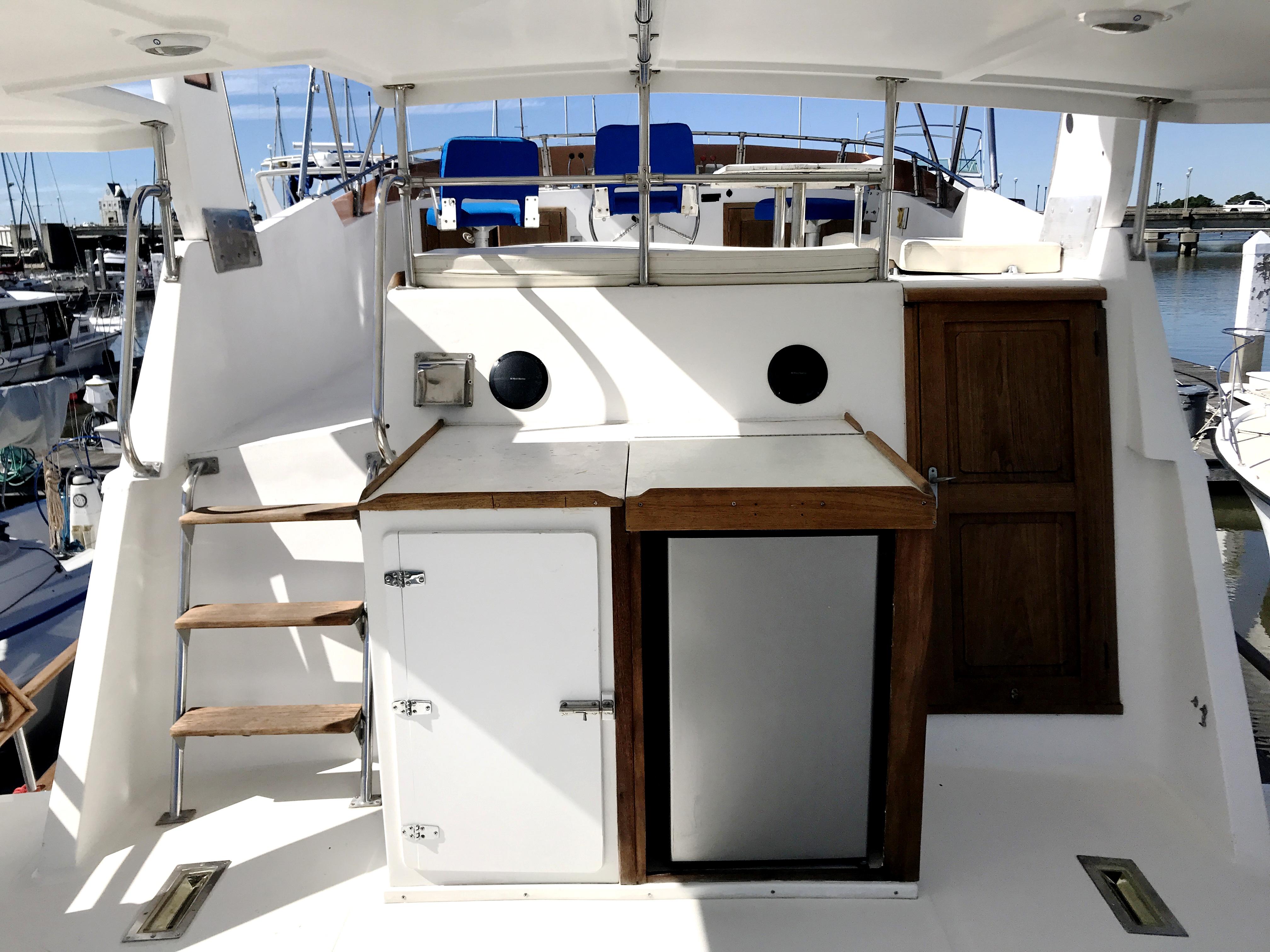 Sea Ranger SUNDECK - sundeck view forward