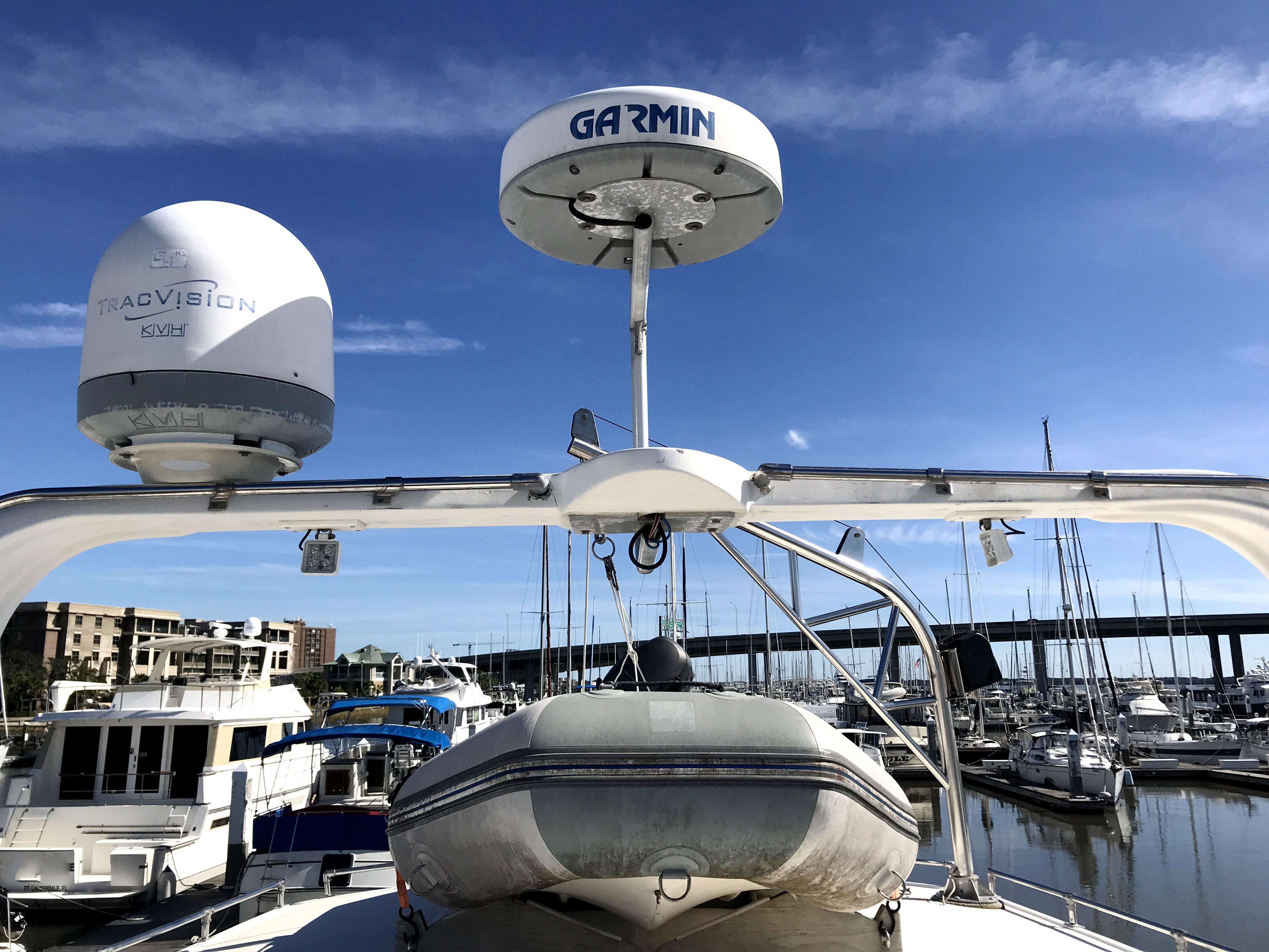 Sea Ranger SUNDECK - dinghy, Garmin radar, and KVH Tracvision
