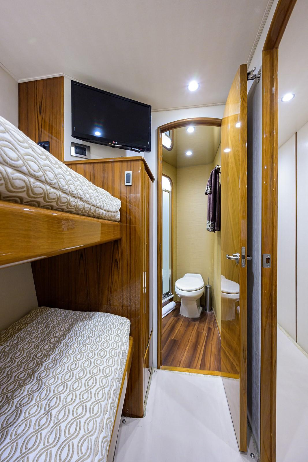 Starboard Stateroom, Forward