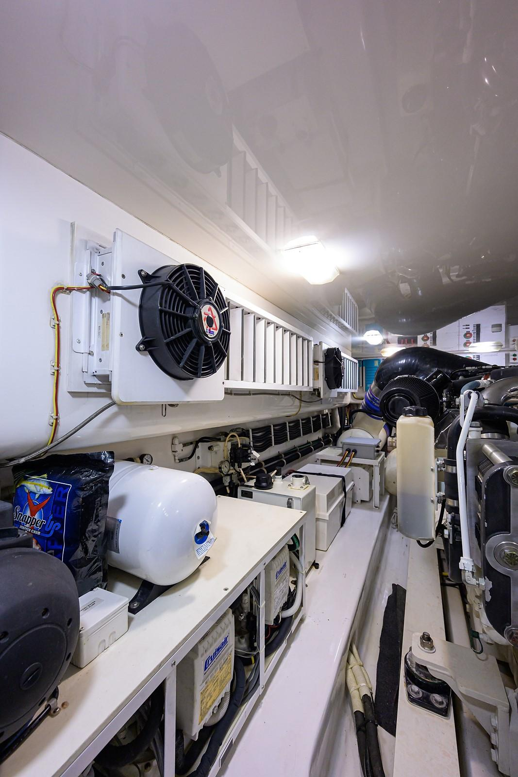 "Trawler Engine Room: 66 Viking Convertible 2014 ""SANDBOB"""