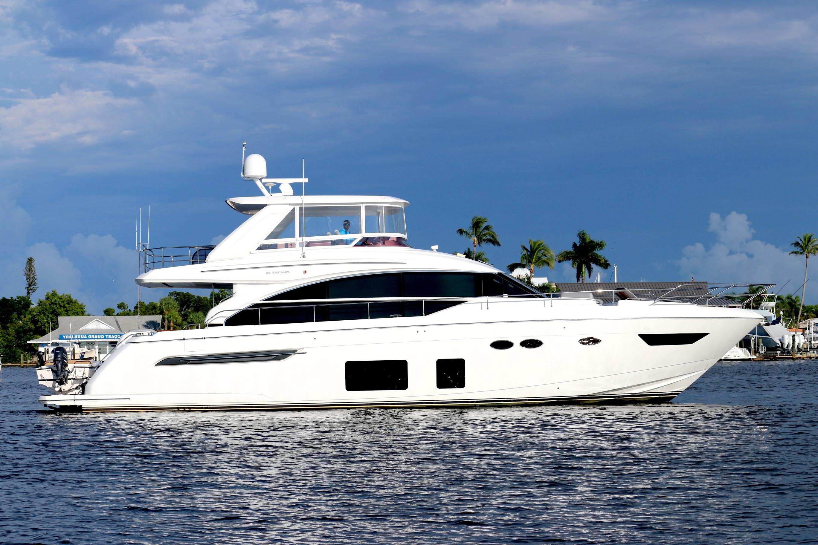 Princess 68 Profile