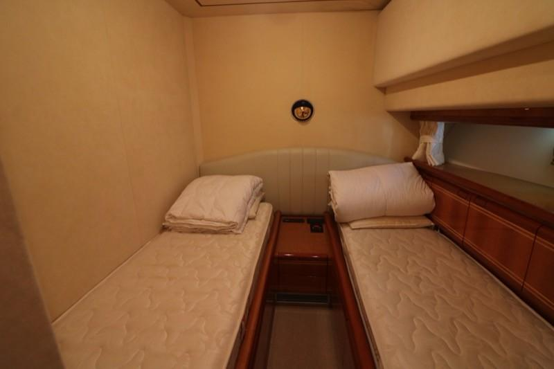 Guest Cabin Twin Beds
