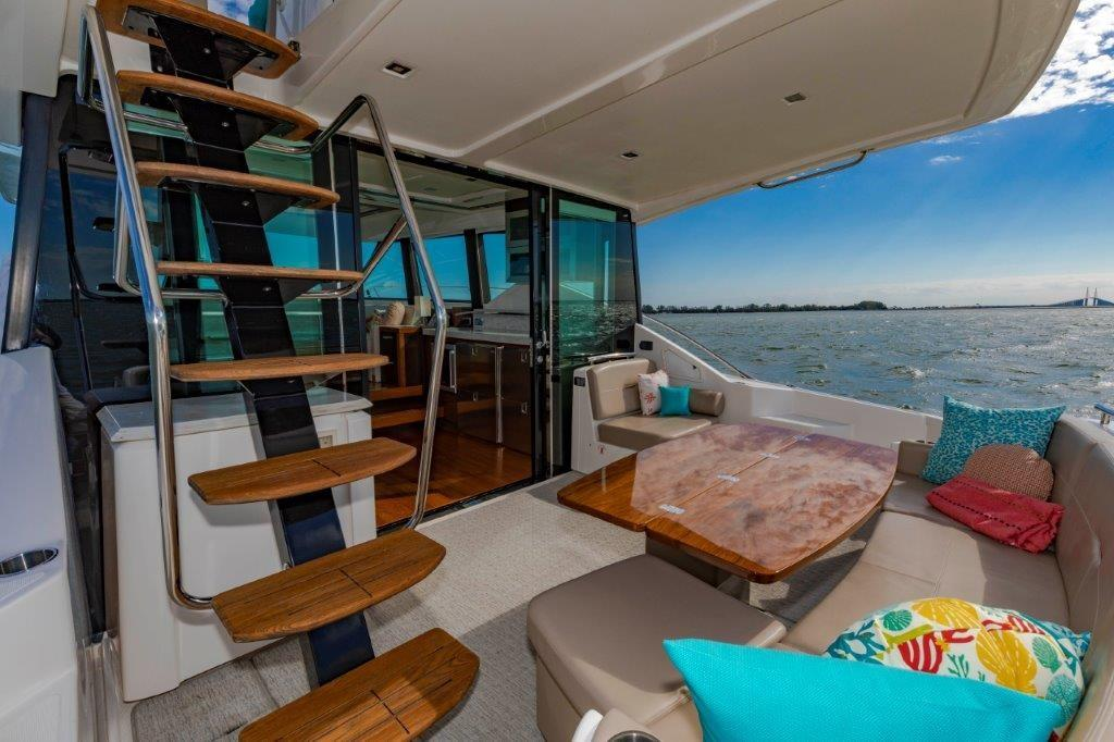Aft Deck with Galley Access