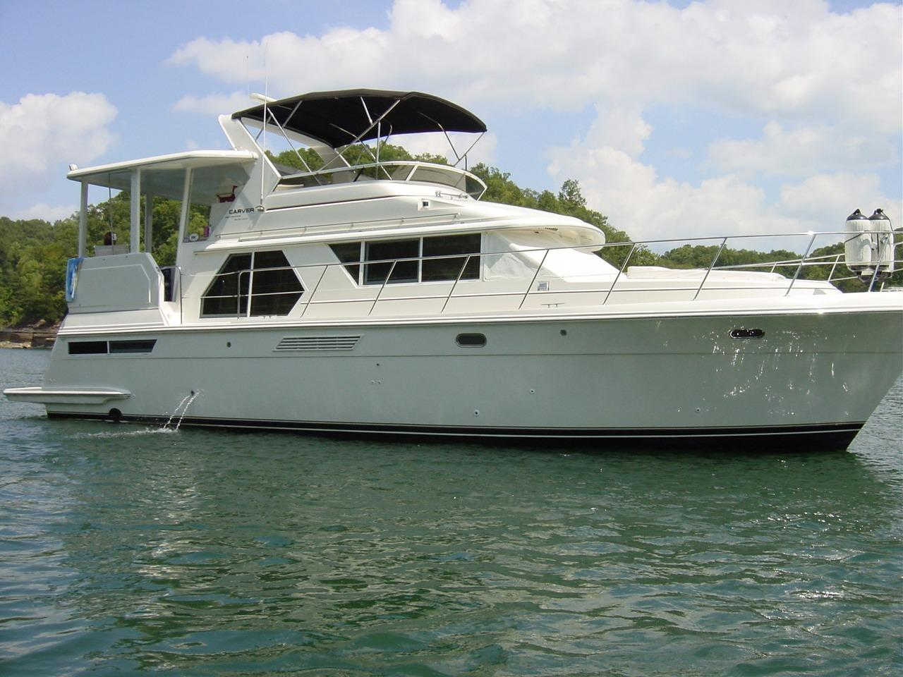 44 Carver 1998 Burkesville Denison Yacht Sales