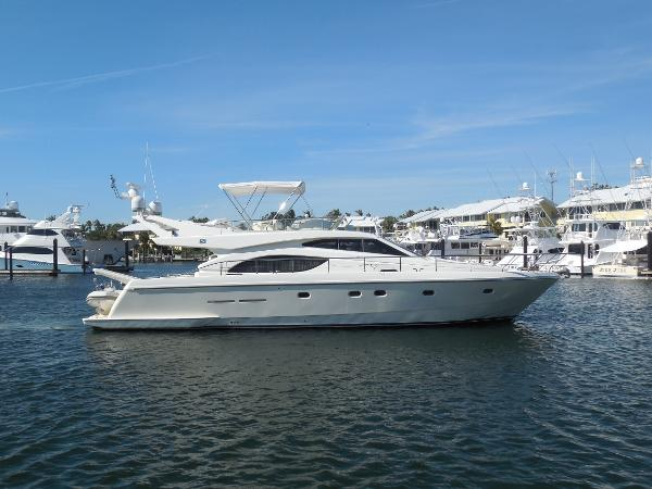 2003 53' Ferretti Yachts FLYBRIDGE