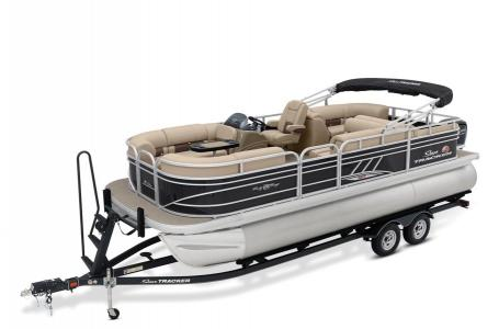2020 Sun Tracker boat for sale, model of the boat is Signature Party Barge 22RF XP3 w/150L 4S & Image # 9 of 13
