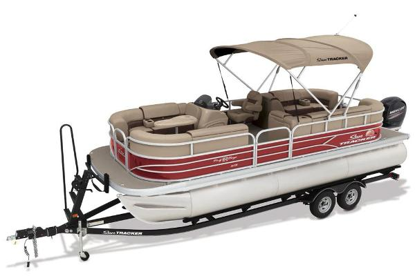 2018 Sun Tracker boat for sale, model of the boat is Party Barge 22 XP3 & Image # 2 of 7