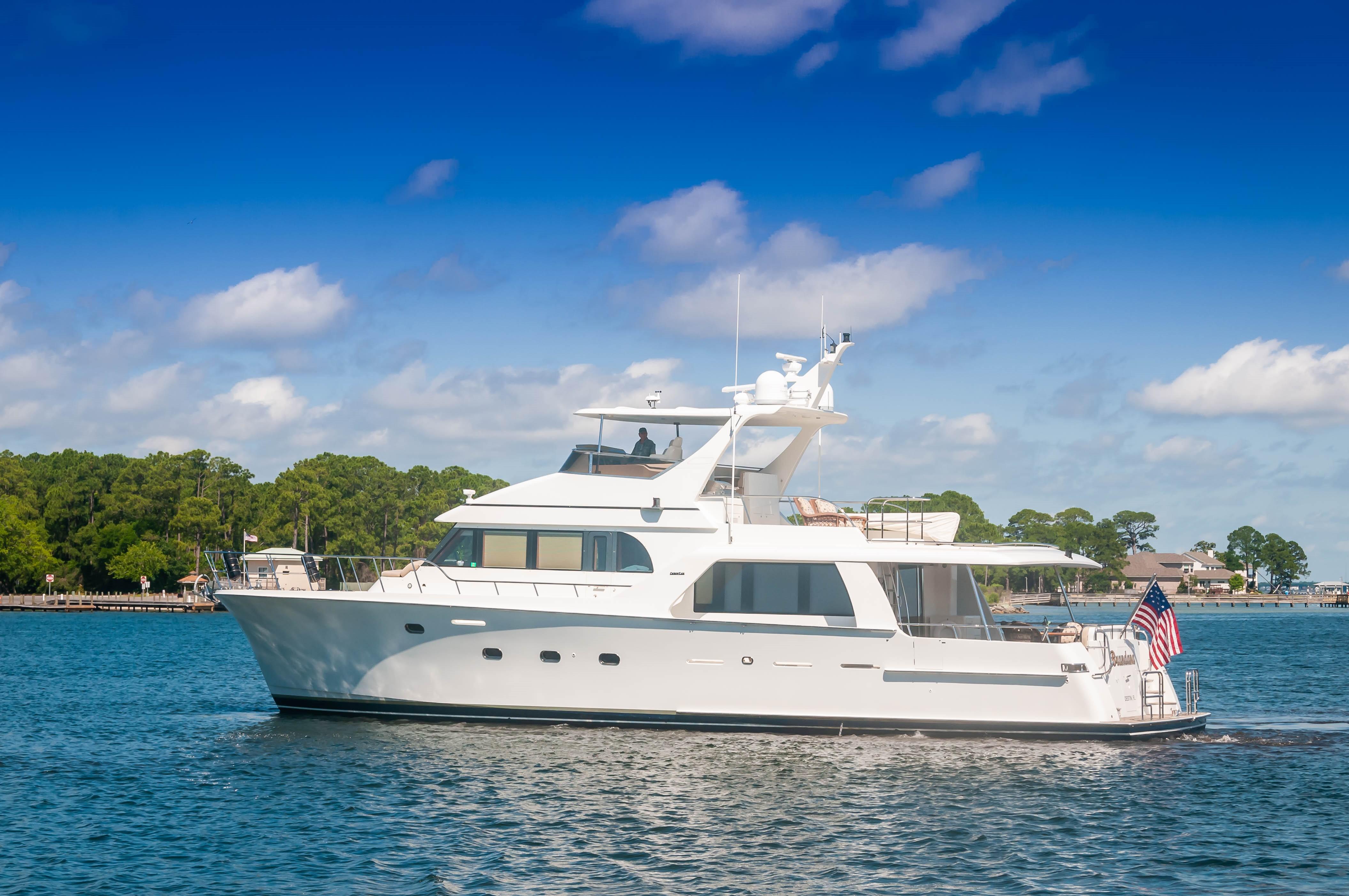 72 ft Cheoy Lee Pilothouse Motor Yacht