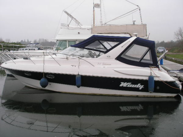 PART EXCHANGE POSSIBLE - 2002 WINDY 32 SCIROCCO with twin Volvo Penta ... ...