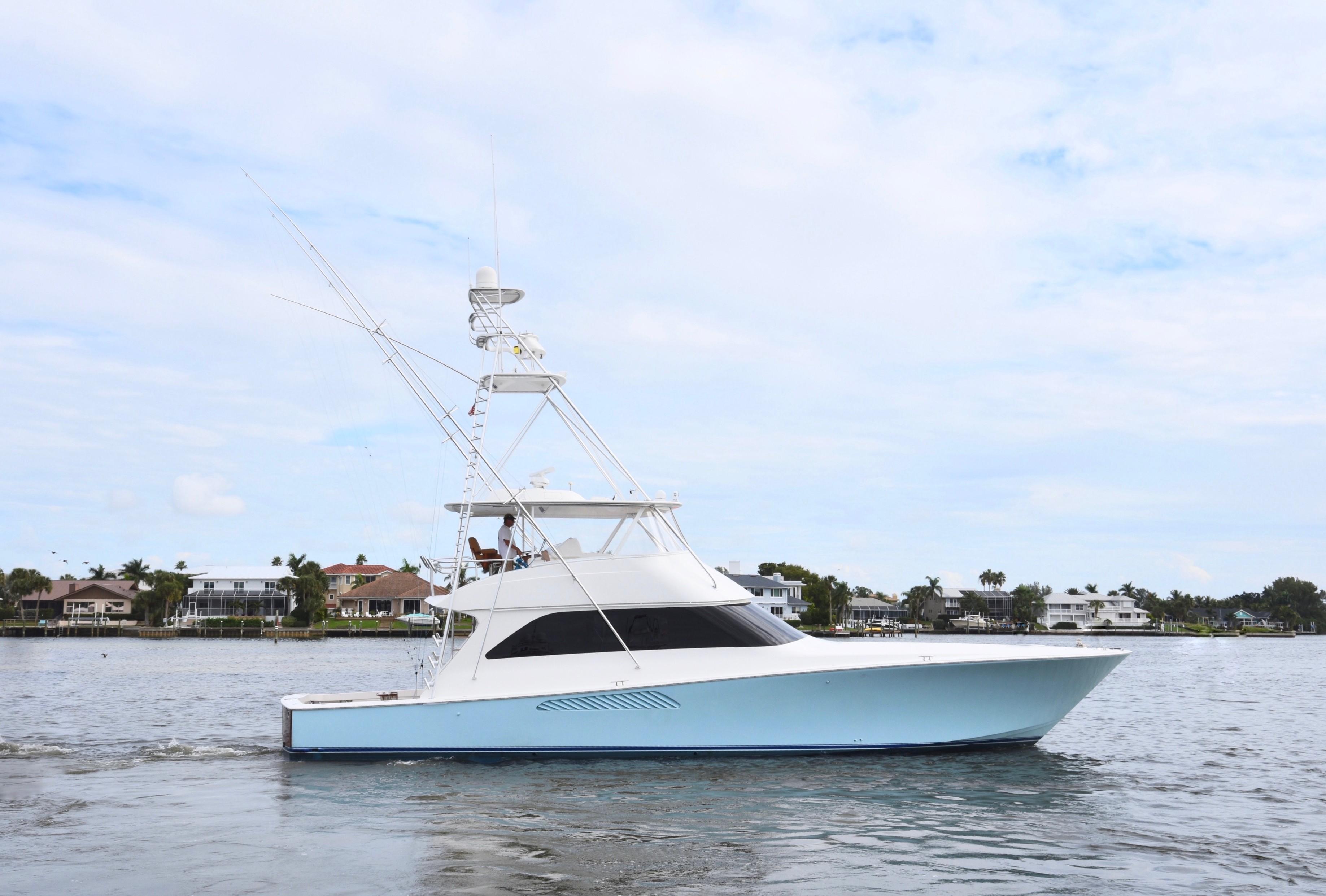 2007 64 Viking Convertible Galati Yacht Sales Trade