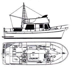 34' Marine Trader 1978 34 Double Cabin