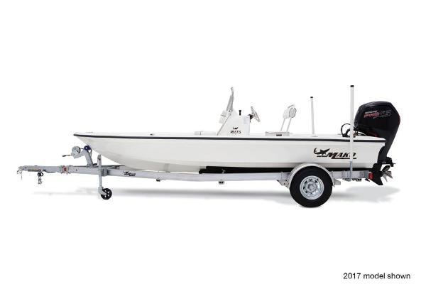 2018 Mako boat for sale, model of the boat is Pro Skiff 19 CC & Image # 2 of 9